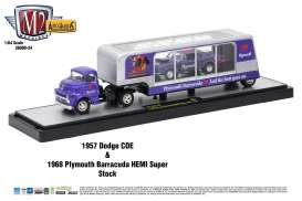 Dodge Plymouth - purple/silver - 1:64 - M2 Machines - 36000-24B - m2-36000-24B | The Diecast Company