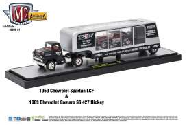 Chevrolet  - silver/black - 1:64 - M2 Machines - m2-36000-24C | The Diecast Company