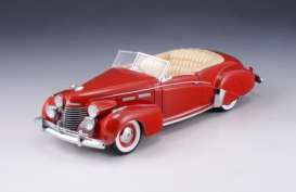 Cadillac  - 1940 red - 1:43 - Great Lighting Models - GLM43103901 | The Diecast Company