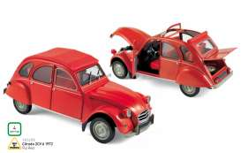 Norev - Citroen  - nor181495 : 1972 Citroen 2CV, rio red