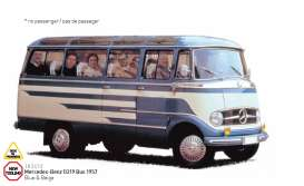 Norev - Mercedes  - nor183412 : 1957 Mercedes-Benz O319 Bus, blue/beige