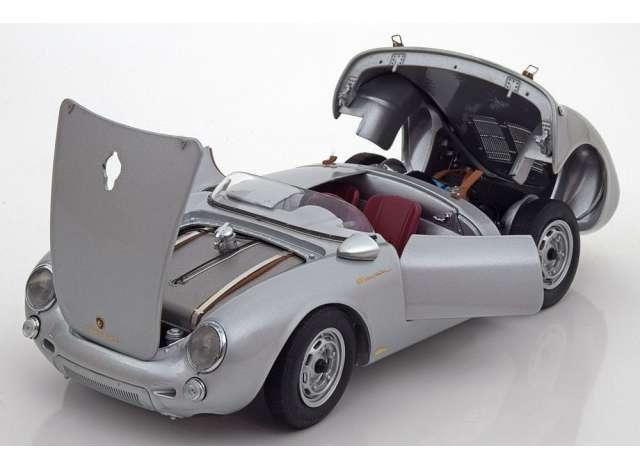 1:18 Schuco Porsche 550 a Spyder Silver