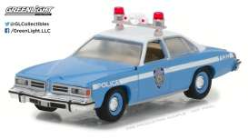 GreenLight - Pontiac  - gl42820B : 1976 Pontiac LeMans New York City Police Dept (NYPD) *Hot Pursuit series 25*