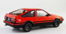 Toyota  - Trueno Sprinter red/black - 1:43 - Kyosho - 3892r - kyo3892r | The Diecast Company