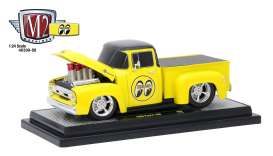 Ford  - 1956 bright yellow/gloss black - 1:24 - M2 Machines - M2-40300-58B | The Diecast Company