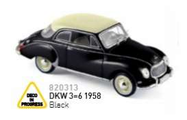 Norev - DKW  - nor820313 : 1958 DKW 3=6, black