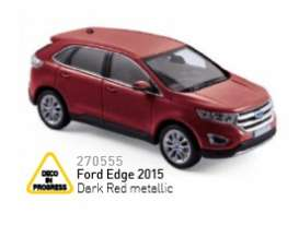 Ford  - 2015 dark red metallic - 1:43 - Norev - nor270555 | The Diecast Company