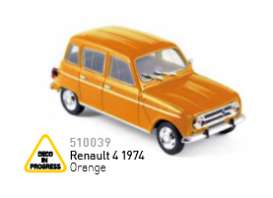 Peugeot  - 1974 orange - 1:43 - Norev - nor510039 | The Diecast Company