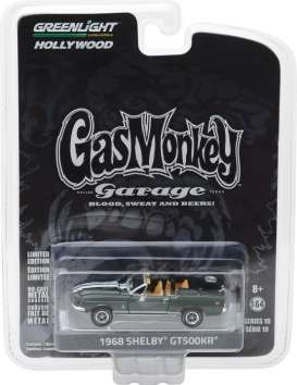 GreenLight - Shelby  - gl44790D : 1968 Shelby GT500KR Convertible *Gas Monkey Garage* (2012-Current TV Series) Hollywood series 19