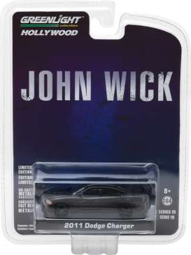 GreenLight - Dodge  - gl44790E : 2011 Dodge Charger *John Wick (2014)* Hollywood series 19