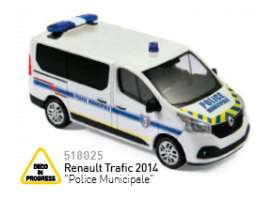 Norev - Renault  - nor518025 : 2014 Renault Trafic Police Municipale