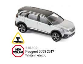Peugeot  - 2017  - 1:64 - Norev - 310609 - nor310609 | The Diecast Company