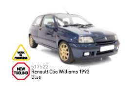 Renault  - 1993 blue - 1:43 - Norev - 517522 - nor517522 | The Diecast Company