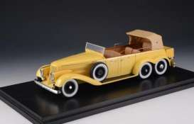 Hispano  - 1930 yellow - 1:43 - Great Lighting Models - GLM43215001 | The Diecast Company
