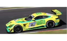 Mercedes Benz  - 2017 yellow/green - 1:43 - Spark - SG317 - spaSG317 | The Diecast Company