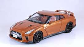 Tarmac - Nissan  - Tarmac11o : 2017 Nissan GT-R *Resin Series*, orange