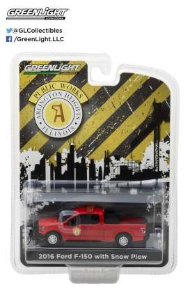Ford  - 2016 red - 1:64 - GreenLight - gl29912 | The Diecast Company