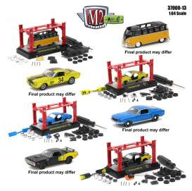 M2 Machines - Assortment/ Mix  - M2-37000-13~12 : 1/64 M2 Model kit series 13. Mix of 12pcs