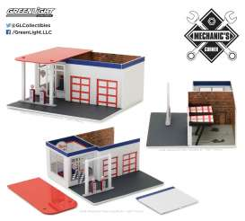 diorama Chevron - 2017 various - 1:64 - GreenLight - gl57022 | The Diecast Company