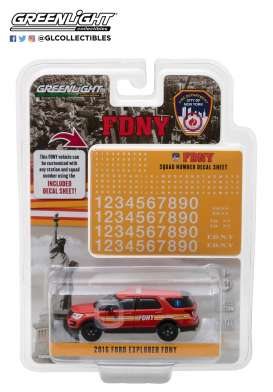 Ford  - Interceptor Utility 2016 various - 1:64 - GreenLight - gl42823 | The Diecast Company