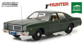 Dodge  - Monaco *Hunter* 1977  - 1:18 - GreenLight - gl19045 | The Diecast Company