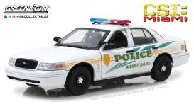 Ford  - Crown Victoria Police 2003  - 1:18 - GreenLight - gl13514 | The Diecast Company