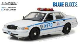 Ford  - Crown Victoria Police Intercep 2001  - 1:18 - GreenLight - 13513 - gl13513 | The Diecast Company