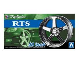 Wheels & tires  - 1:24 - Aoshima - abk153706 | The Diecast Company