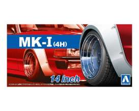 Wheels & tires  - 1:24 - Aoshima - abk153874 | The Diecast Company