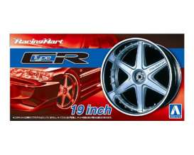 Wheels & tires  - 1:24 - Aoshima - abk153935 | The Diecast Company