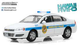 Chevrolet  - Impala Honolulu Police 2010  - 1:43 - GreenLight - 86518 - gl86518 | The Diecast Company