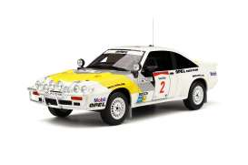 OttOmobile Miniatures - Opel  - otto245 : 1/18 Opel Manta 400 Goupe B *Resin Series*, white/yellow/grey