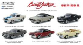 GreenLight - Assortment/ Mix  - gl37130~12 : 1/64 Barrett-Jackson *Scottsdale Edition* Series 2 assortment of 12.