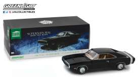 Dodge  - Charger *Supernatural* 1970 black - 1:18 - GreenLight - 19046 - gl19046 | The Diecast Company