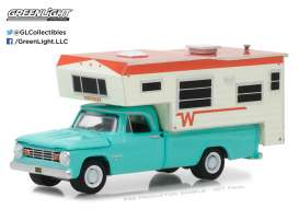 Dodge Winnebago - 1965  - 1:64 - GreenLight - gl29923 | The Diecast Company