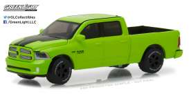 GreenLight - Ram  - gl29927 : 2017 Ram 1500 Sport Special Edition (Hobby Exclusive), sublime green pearl