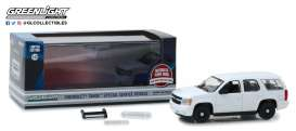 Chevrolet  - Tahoe plain white - 1:43 - GreenLight - 86096 - gl86096 | The Diecast Company