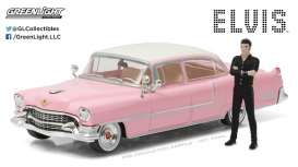 "GreenLight - Cadillac  - gl86436 : 1955 Cadillac Fleetwood Series 60 ""Pink Cadillac"" with Elvis Presley Figure"