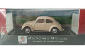 Volkswagen  - Beetle 1200 1960 beige - 1:43 - Magazine Models - ATbeetle - magATbeetle | The Diecast Company