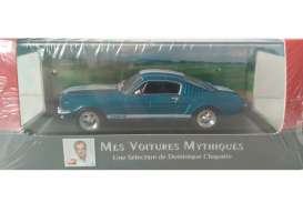 Ford  - Mustang Shelby 350GT 1966 blue metallic/white stripes - 1:43 - Magazine Models - AT350gt - magAT350gt | The Diecast Company