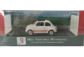 Fiat  - 595SS 1957 white/red stripe - 1:43 - Magazine Models - AT595ss - magAT595ss | The Diecast Company