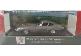 Jaguar  - E Type 1961 grey metallic - 1:43 - Magazine Models - ATetype - magATetype | The Diecast Company