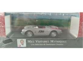 Porsche  - 550 Spyder #130 1955 silver metallic/red - 1:43 - Magazine Models - AT550 - magAT550 | The Diecast Company