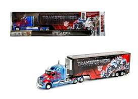 Jada Toys - Transformers Western Star - jada98193 : 1/64 Western Star 5700 XE Phantom Transformers 5 Optimus Prime in Nice Transformers 5 Packaging