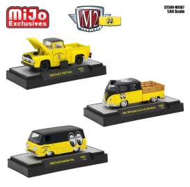 M2 Machines - Assortment/ Mix  - M2-32500Mj07~6 : 1/64 Mooneyes Mijo Exclusive assortment of 6pcs.