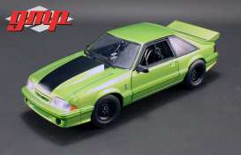 "GMP - Ford  - gmp18888 : 1993 Ford Mustang Cobra ""King Snake"" 1320 Drag Kings, nitro green"