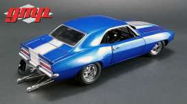 Chevrolet  - Camaro 1320 Drag Kings 1969 blue/white - 1:18 - GMP - 18876 - gmp18876 | The Diecast Company