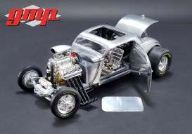 Ford  - Blown Altered Coupe 1934 raw steel - 1:18 - GMP - gmp18880 | The Diecast Company