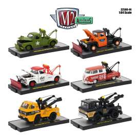 M2 Machines - Assortment/ Mix  - M2-32500-44~6 : 1/64 Auto-Trucks Release 44 assortment of 6pcs.