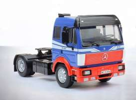 Mercedes Benz  - 1989 blue/red - 1:43 - IXO Models - TR009 - ixTR009 | The Diecast Company